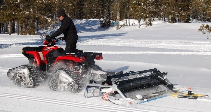 Timm S Hill National Trail Grooming